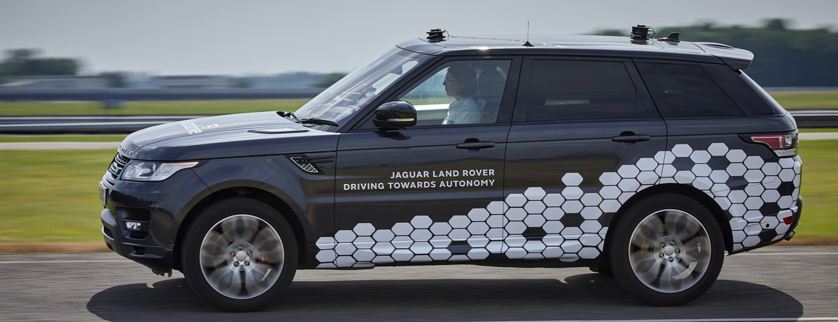 Jaguar and Land Rover vehicles closer to driving city autonomously