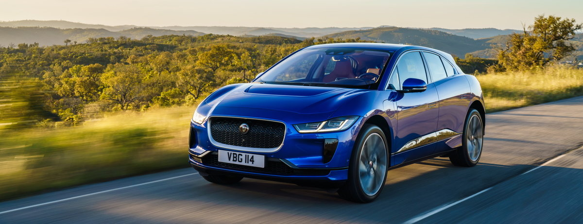 Jaguar I Pace Named Best Electric Vehicle At Drivingelectric