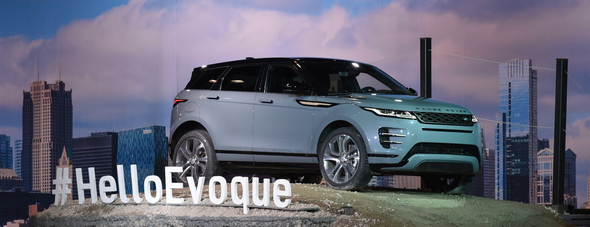 Land Rover Chicago >> New Range Rover Evoque Makes Dynamic U S Debut In Chicago Land Rover