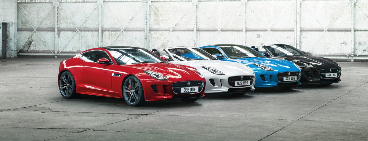 Jaguar F-TYPE Success