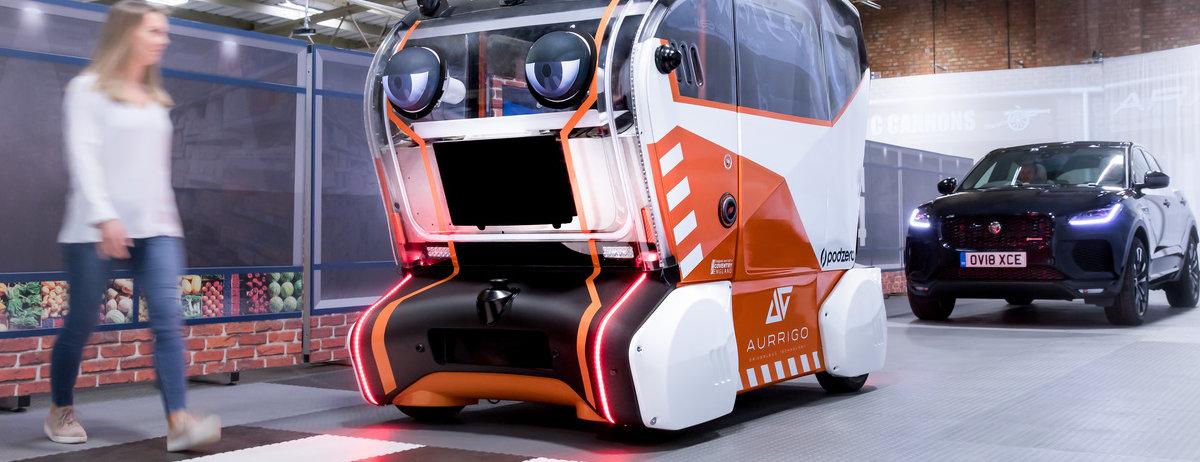 "Jaguar Land Rover: ""Virtuelle Augen"" sollen  Vertrauen in autonome Fahrzeuge schaffen"