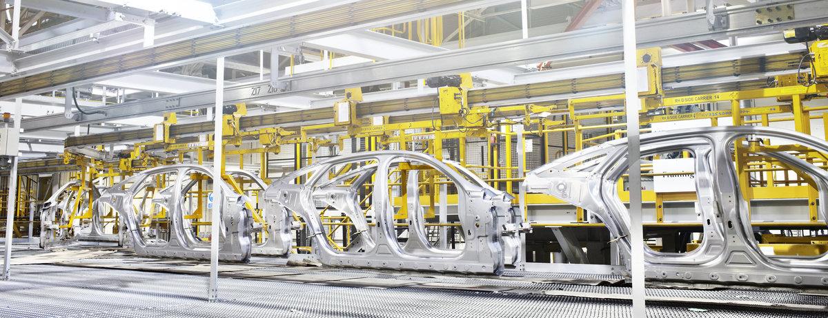 JLR Aluminium Manufacturing