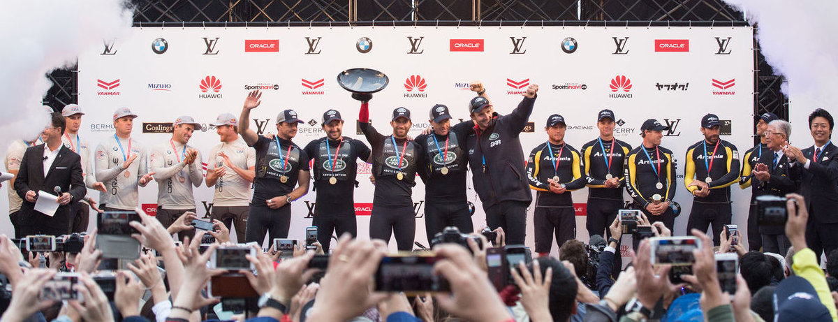 Land Rover BAR Win America's Cup World Series