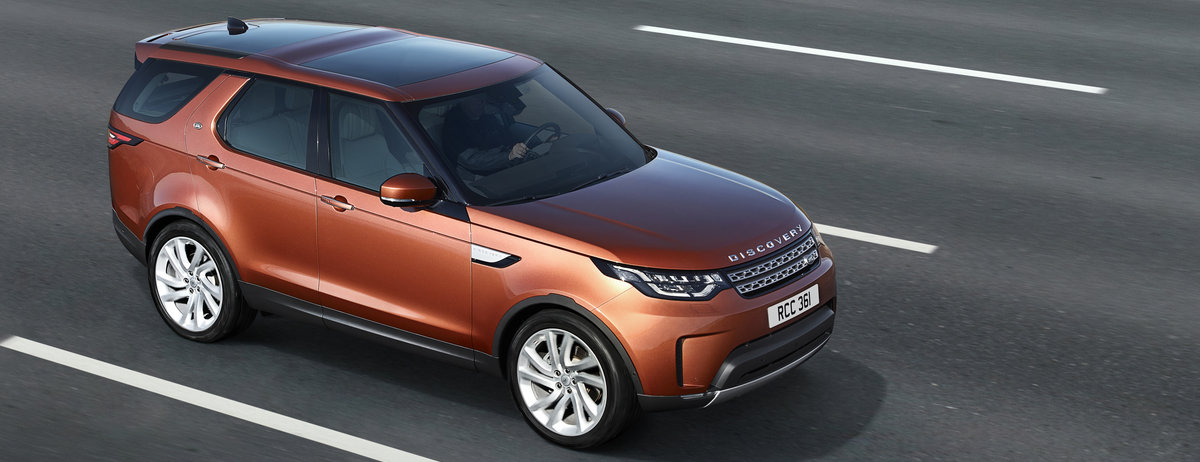 LAND ROVER REVEALS NEW DISCOVERY - LOCATION