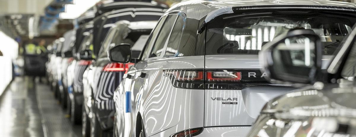 JAGUAR LAND ROVER REMAINS LEADING UK CAR AND ENGINE MAKER