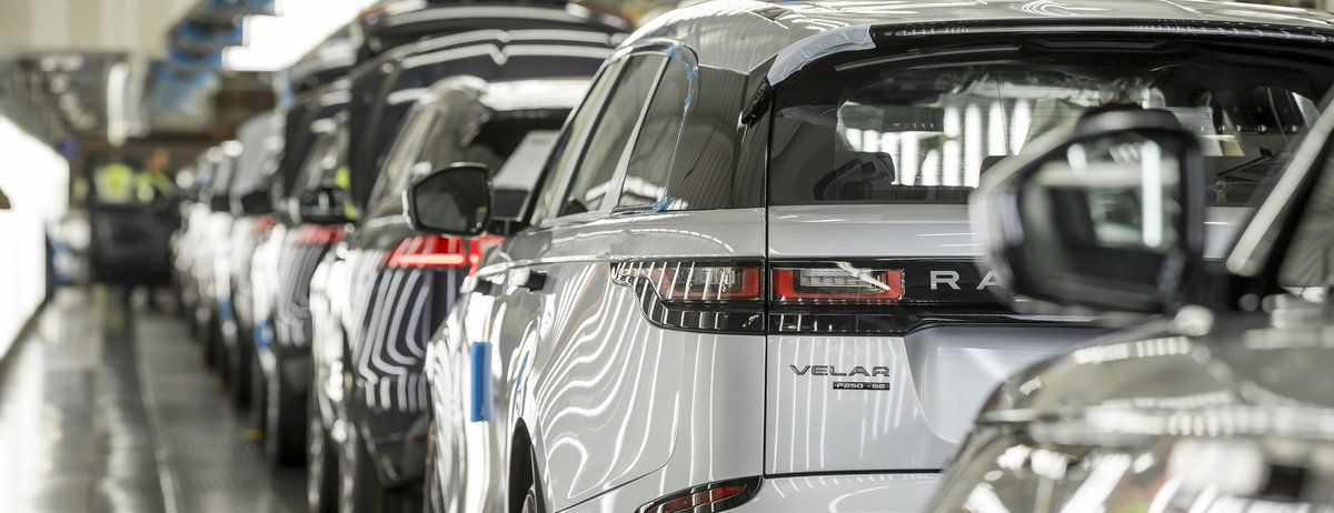 JAGUAR LAND ROVER REMAINS LEADING UK CAR AND ENGINE MAKER