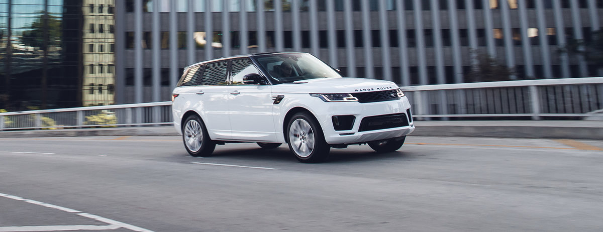 The 2018 Range Rover Sport P400e PHEV in LA