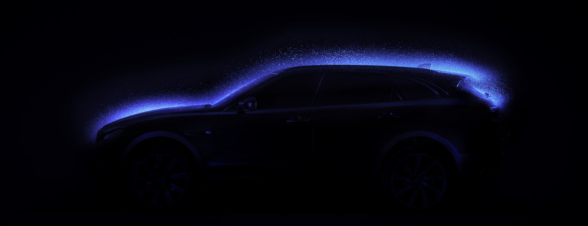 AWARD WINNING JAGUAR F-PACE PAINTED IN A NEW LIGHT