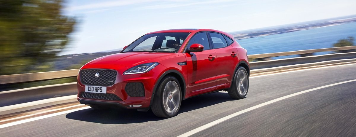 JAGUAR E-PACE – THE COMPACT PERFORMANCE SUV WITH SPORTS CAR