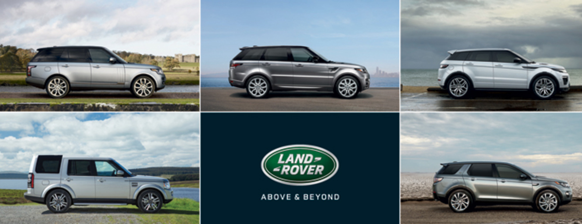 Land Rover Announces 2016 Model Year Lineup Land Rover Homepage Usa