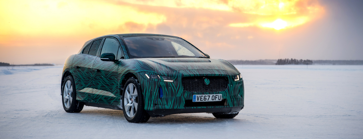 FAST-CHARGING ICE COOL I-PACE