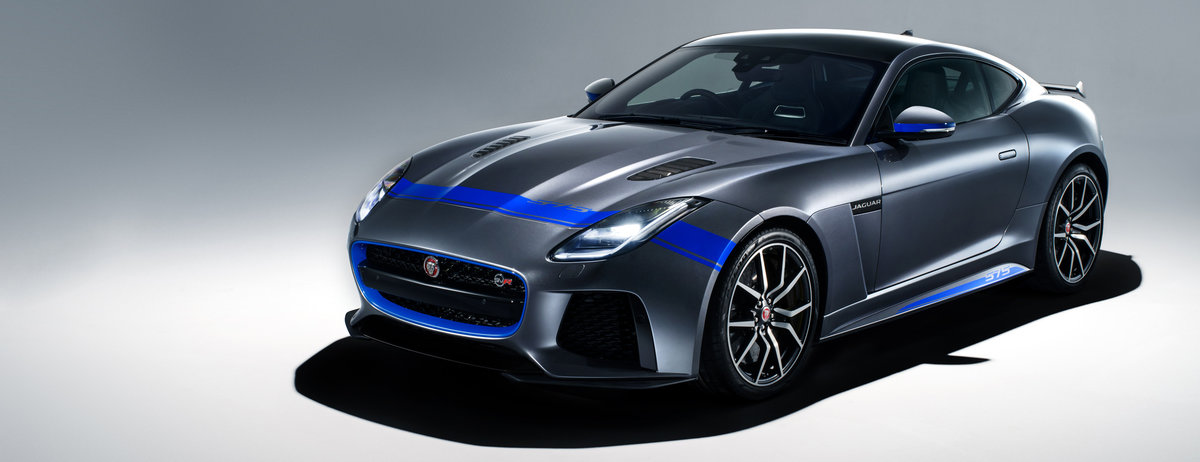 NEW GRAPHIC PACK ADDS VISUAL MUSCLE TO 575PS JAGUAR F-TYPE SVR SUPERCAR
