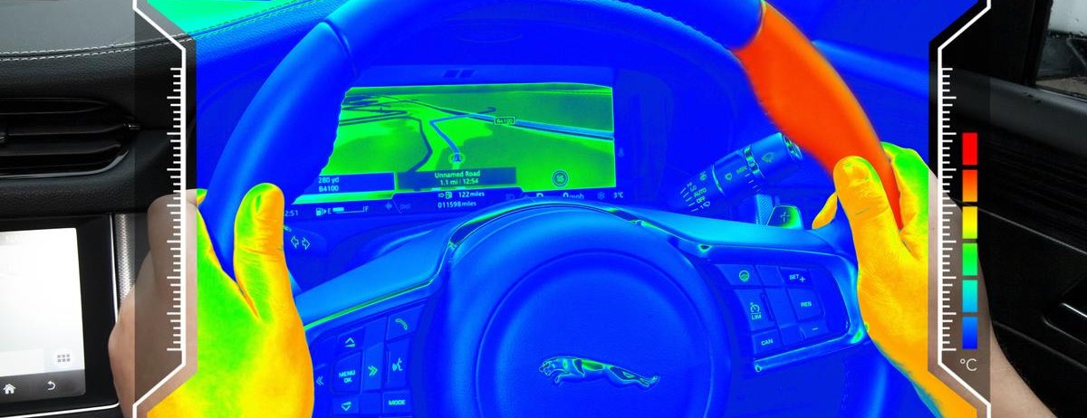 'Sensory steering wheel' helps reduce driver distraction by keeping eyes on the road
