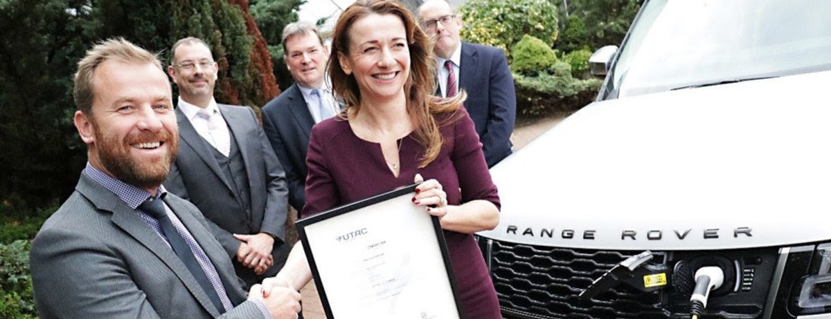 Jaguar Land Rover awarded for environmental standards