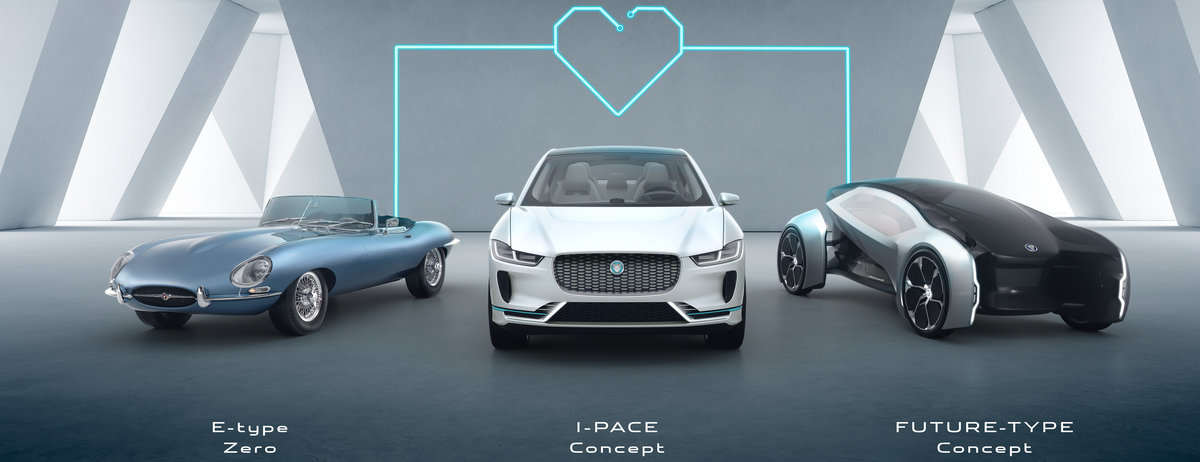 LINEUP - FUTURE-TYPE CONCEPT - JAGUAR'S VISION FOR 2040 AND BEYOND
