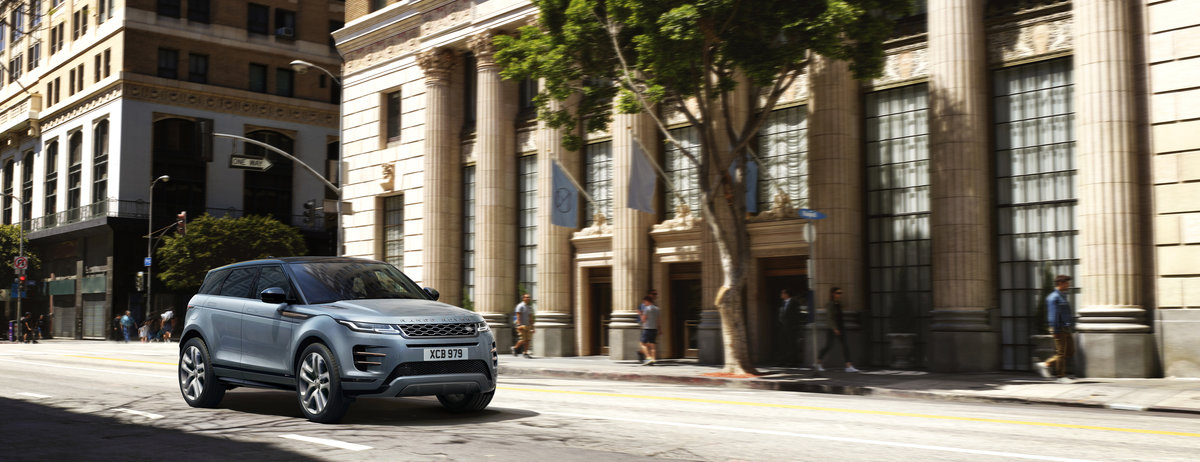 New Range Rover Evoque Named GQ's 'Best Compact SUV'