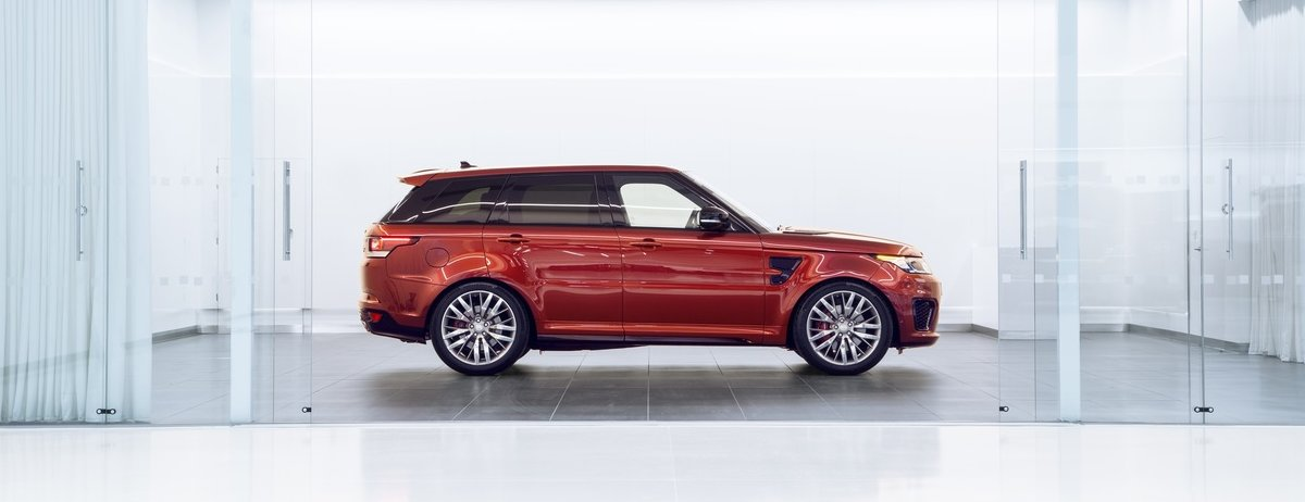 New Jaguar Land Rover SVO Technical Centre - Presentation Suite