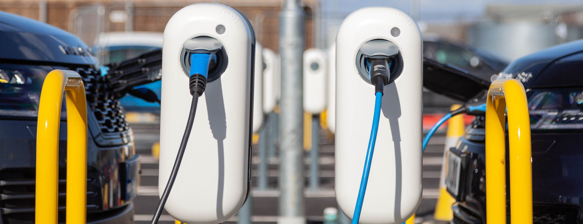 Land Rover Vehicles Charging