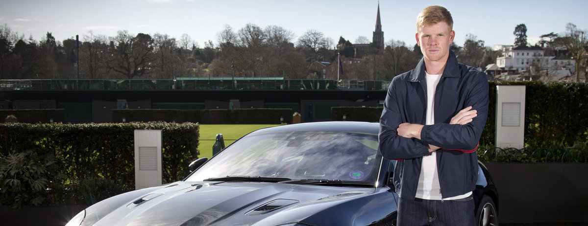 Kyle Edmund joins Jaguar as UK Brand Ambassador