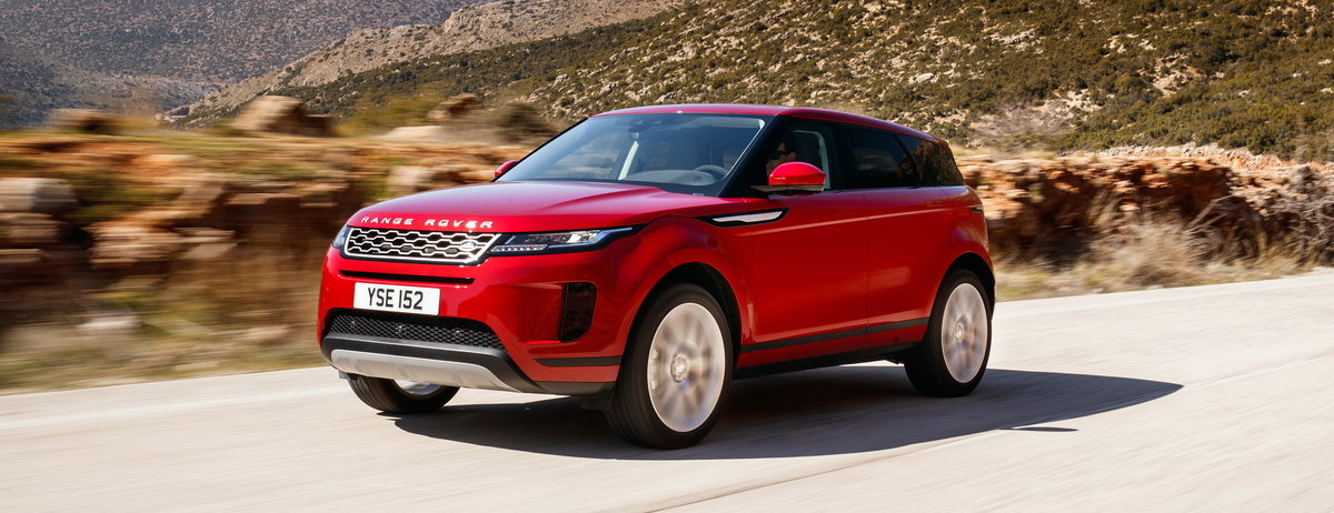 DRIVING – GREECE: NEW RANGE ROVER EVOQUE