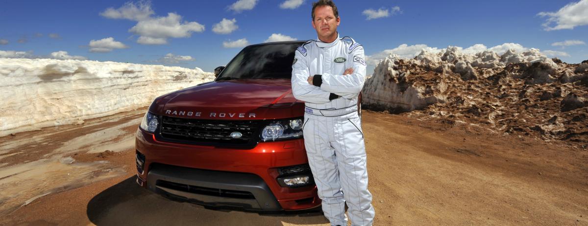 All-New Range Rover Sport Sets Pikes Peak Hill Climb Record