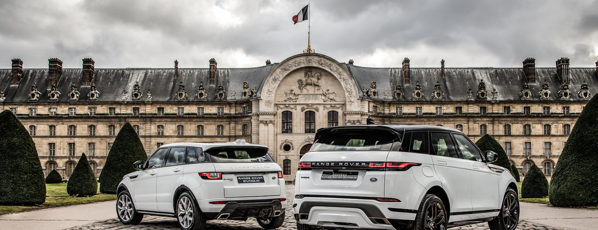 LE RANGE ROVER EVOQUE REMPORTE LE PRIX DU PLUS BEL INTERIEUR  AU FESTIVAL AUTOMOBILE INTERNATIONAL