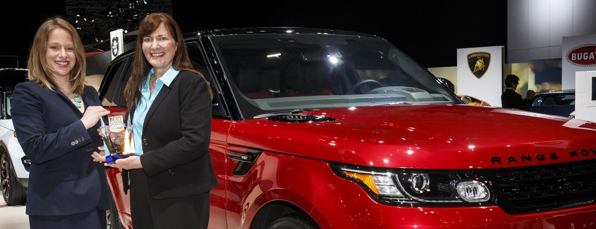 Luxury Vehicle: 2015 Range Rover Sport Named Best Luxury 3-Row SUV For