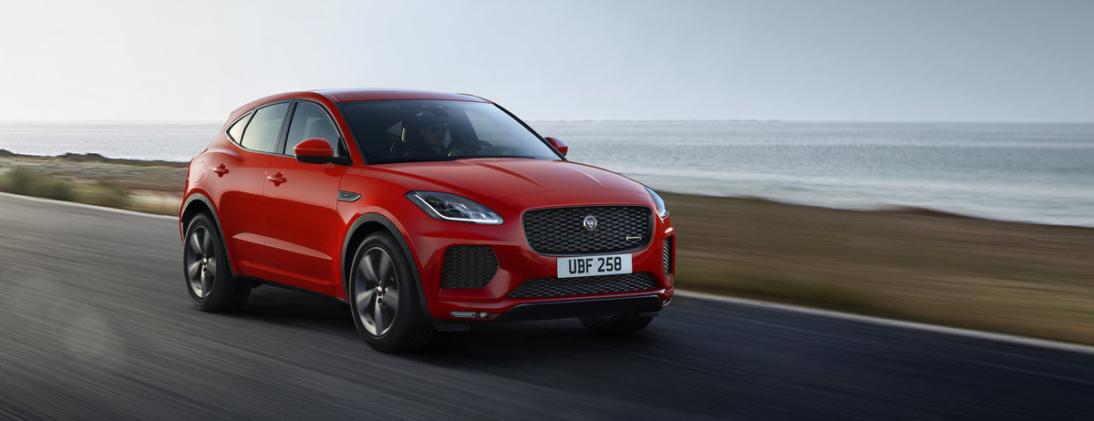 Jaguar E Pace Chequered Flag Special Edition Joins Compact Suv Line