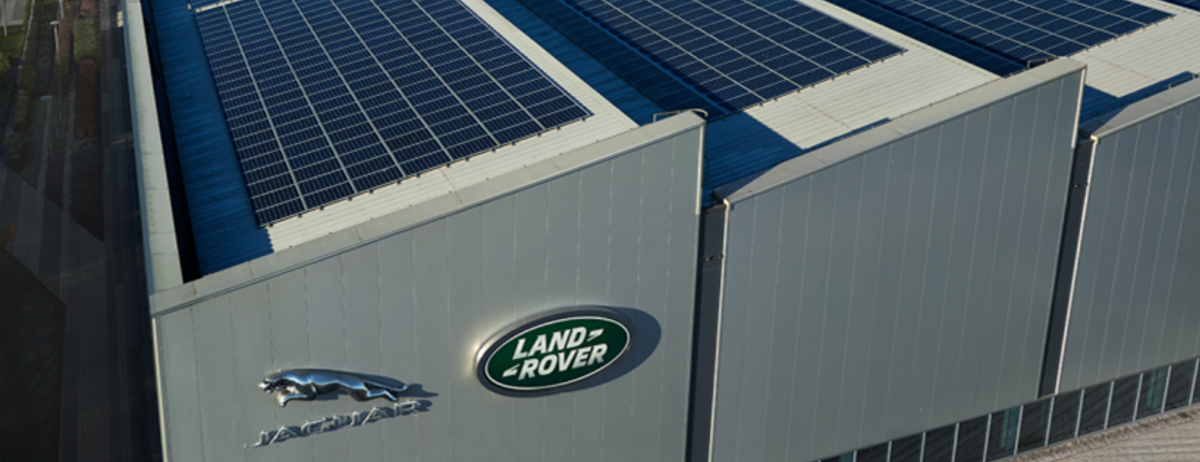 Jaguar Land Rover EMC - Solar Panels