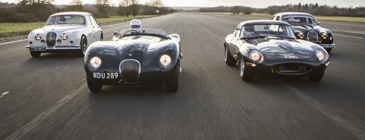Full Details of the Jaguar Heritage Challenge Race Series Announced