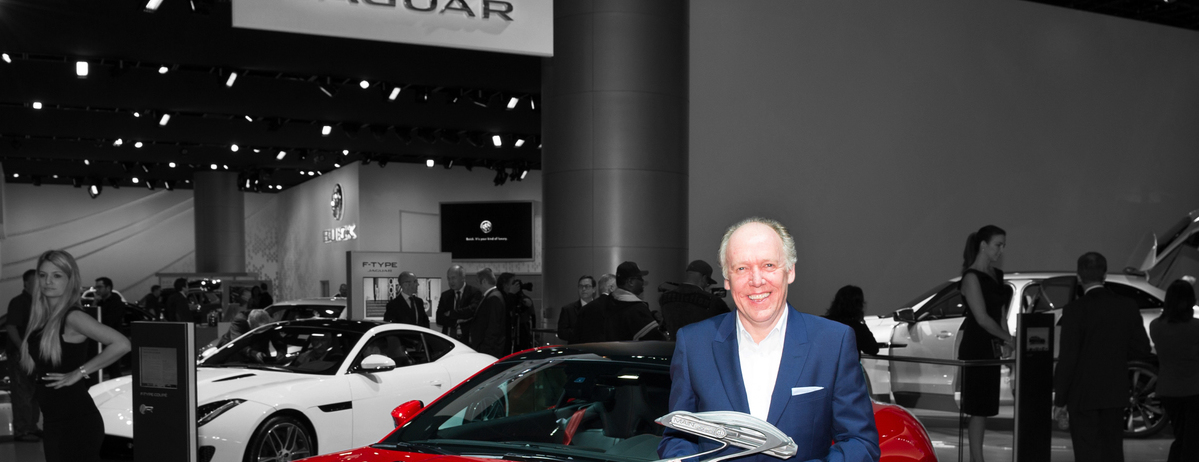 Jaguar Design Director Ian Callum named Industry Innovator of the Year at Motorcity Automotive Industry Night (MAIN) Event in Detroit