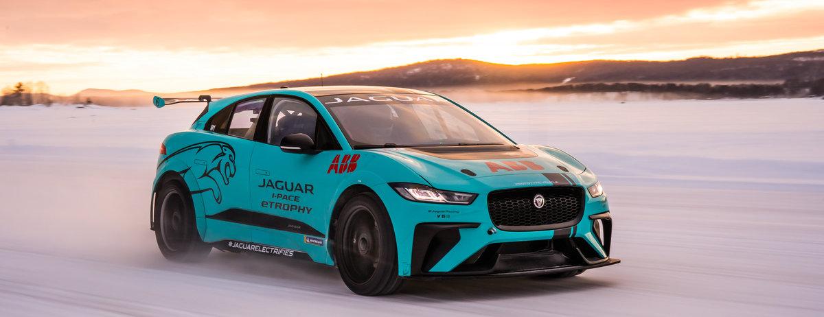 Arktischer Tiefkühltest bei minus 40 Grad für den   vollelektrischen Jaguar I-PACE eTROPHY