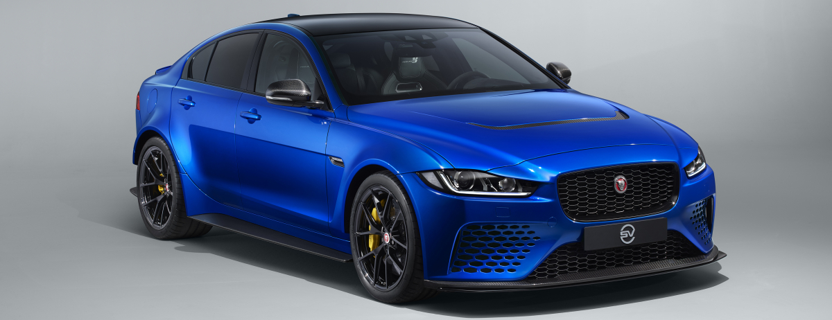 NEW TOURING SPECIFICATION FOR WORLD'S FASTEST PRODUCTION SEDAN, JAGUAR XE SV PROJECT 8