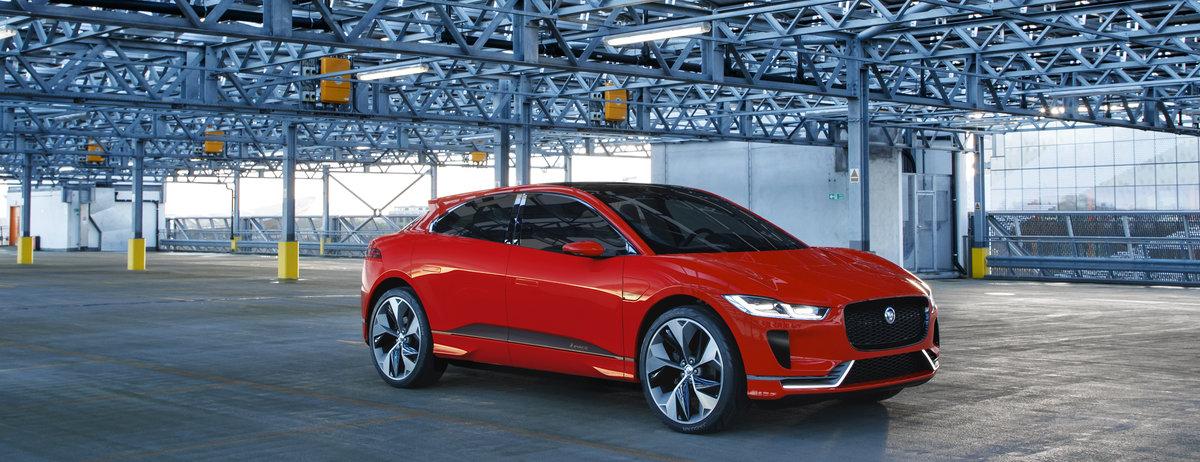 Jaguar I-PACE Concept feiert Europapremiere in Genf