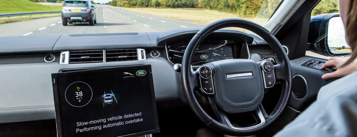 JAGUAR LAND ROVER DRIVES FORWARD CONNECTED AND AUTONOMOUS