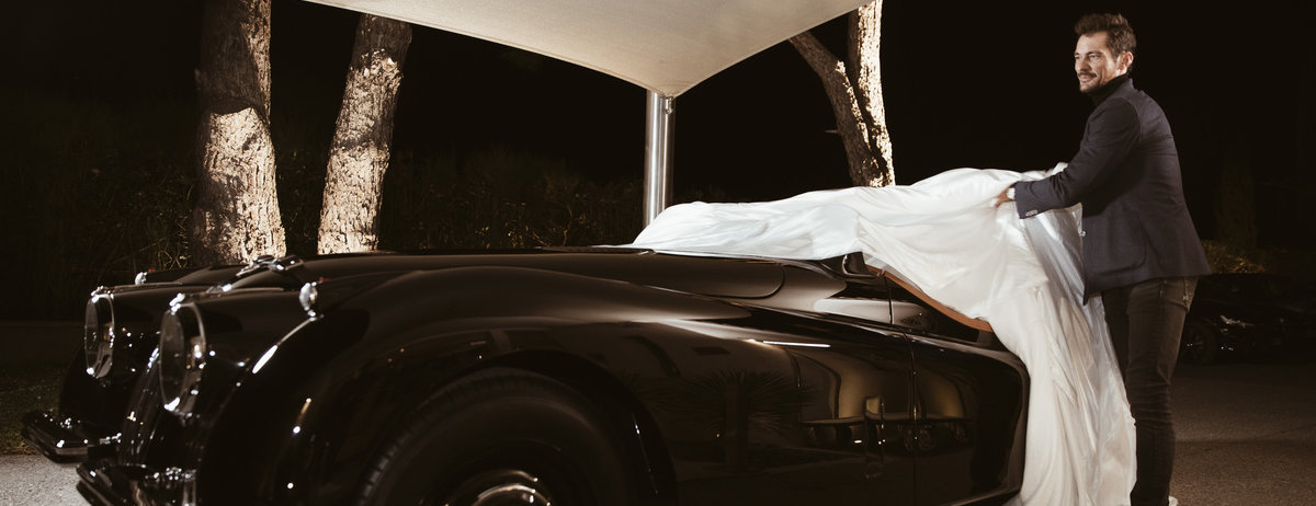 David Gandy has fulfilled a life-long ambition by completing the restoration of a 65-year-old original Jaguar XK120