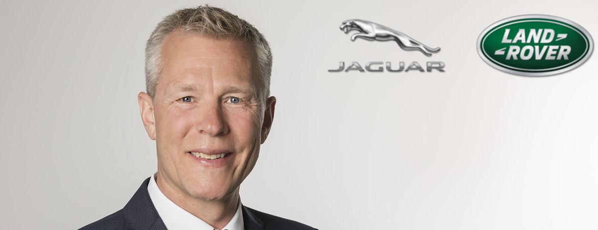 Jaguar Land Rover verstärkt sein deutsches Team mit der Ernennung von Ulrich Schäfer zum Vertriebsdirektor
