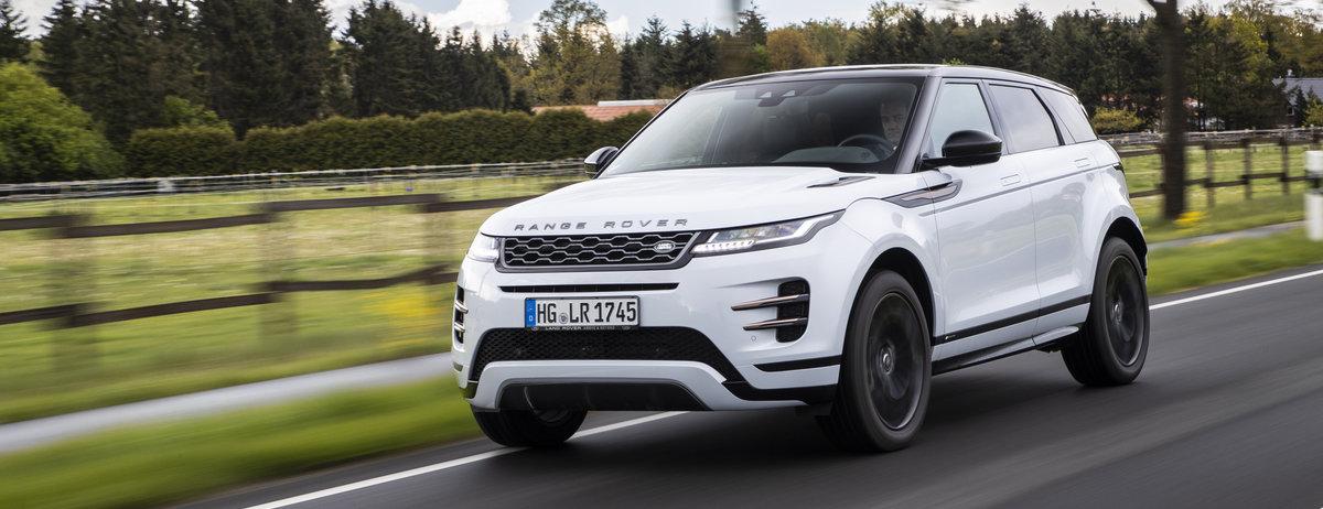 """AUTO BILD und Schwacke küren den neuen Range Rover Evoque zum """"Wertmeister-König aller Klassen"""""""