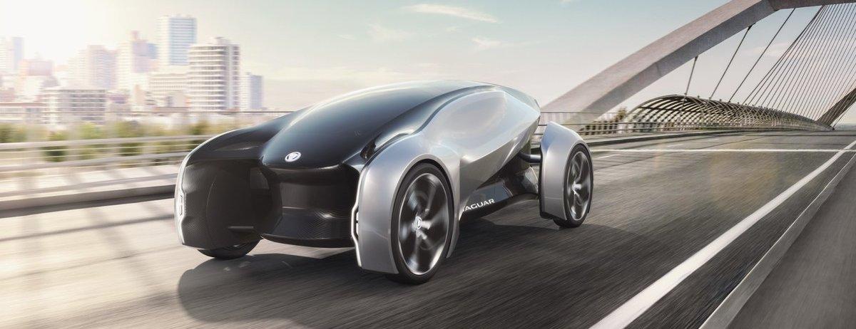 FUTURE-TYPE: Die Jaguar Vision für ein Premium-Kompaktauto des Jahres 2040