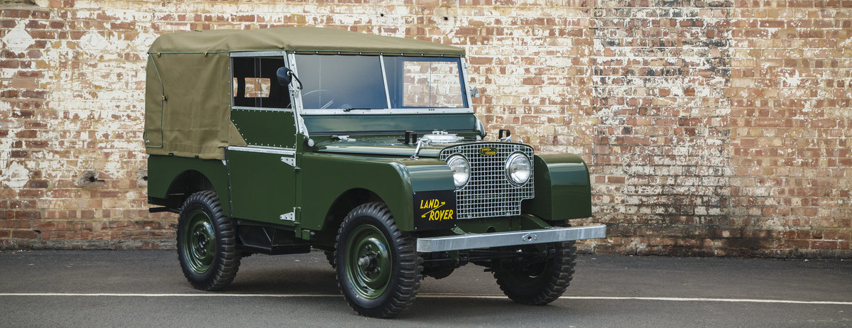 World Debut for Land Rover Series I 'Reborn' at 2016 Techno-Classica