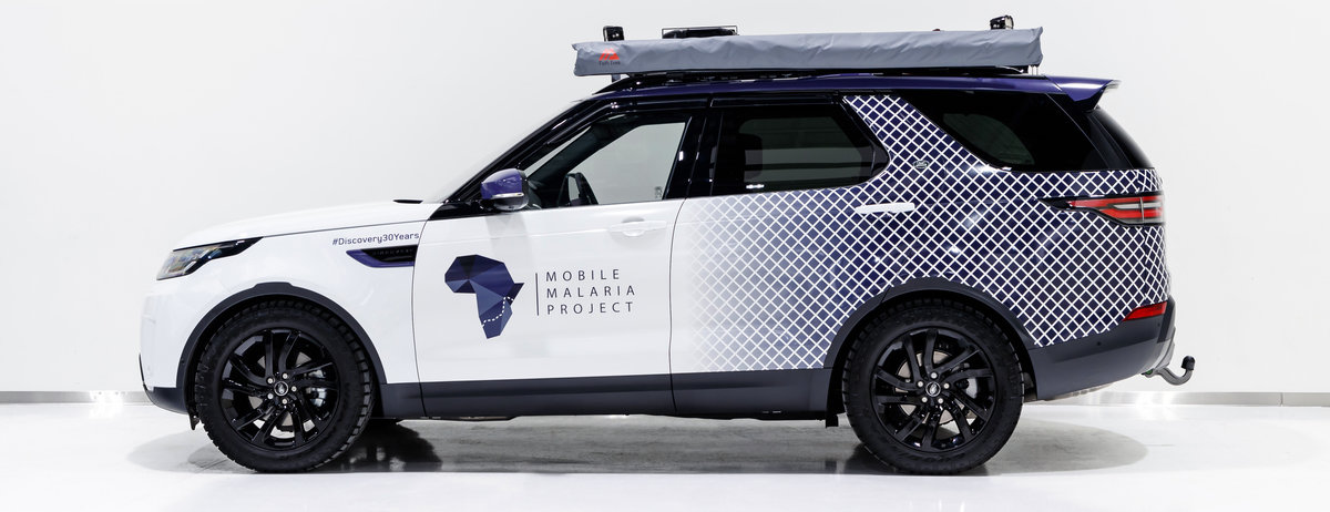 MOBILE MALARIA PROJECT EMBARKS ON JOURNEY OF DISCOVERY WITH LAND ROVER AND THE ROYAL GEOGRAPHICAL SOCIETY (WITH IBG)