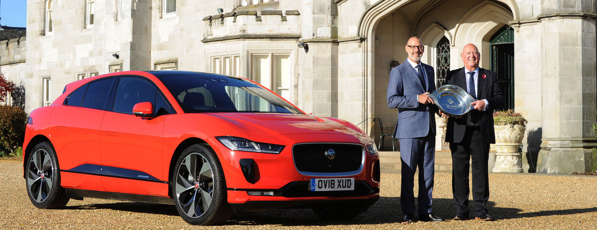 All-electric Jaguar I-PACE named 2018 Scottish Car Of The Year