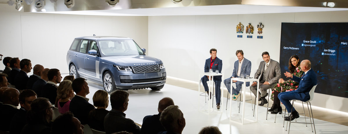 Reveal Event: Range Rover for 2018