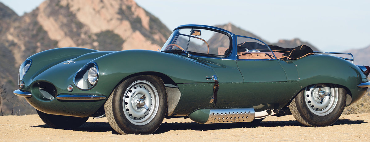 THE 'NEW ORIGINAL': JAGUAR XKSS MAKES WORLD DEBUT IN LOS ANGELES