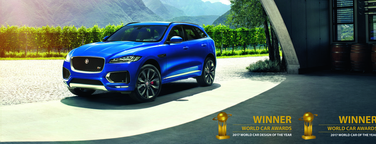 JAGUAR F-PACE VOTED 2017 BEST AND MOST BEAUTIFUL CAR IN THE WORLD