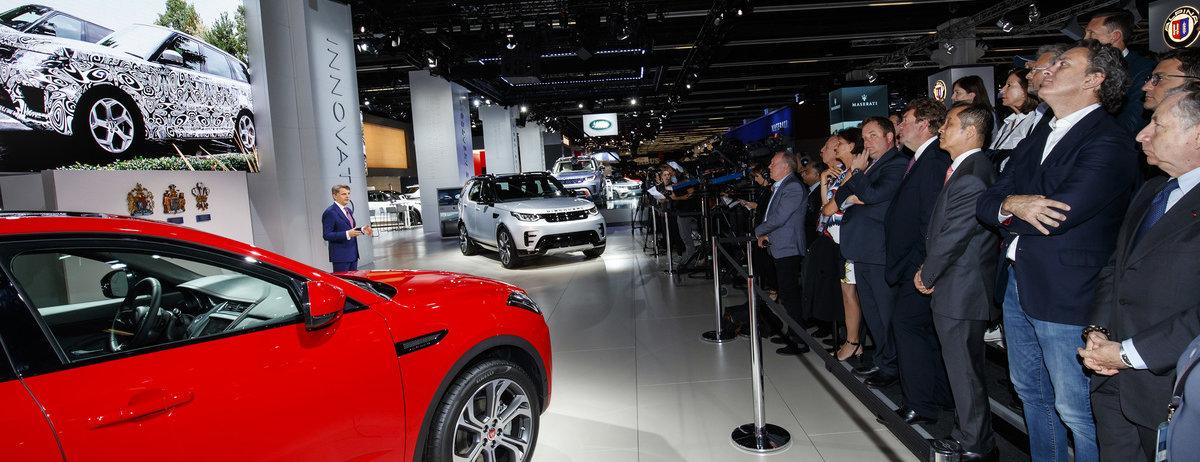 Jaguar Land Rover Frankfurt Show 2017 Press Conference