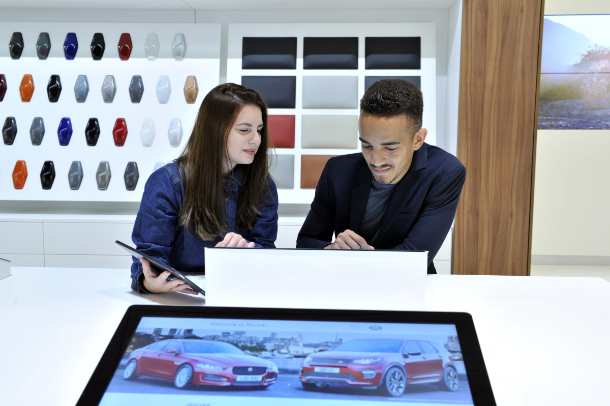 Meet the Angels: Jaguar Land Rover's newest retail innovation powered by Rockar