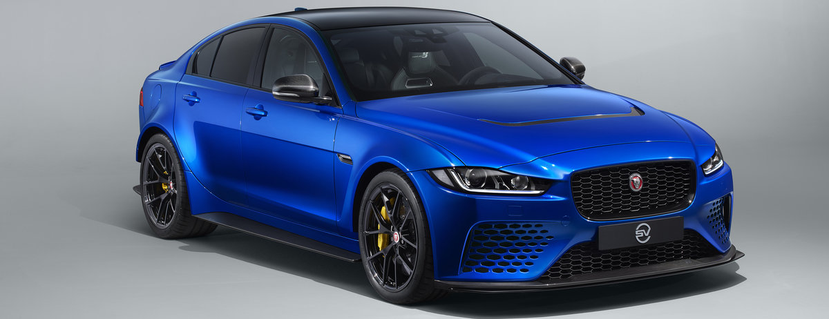 Limited-run collector's edition Jaguar XE SV Project 8
