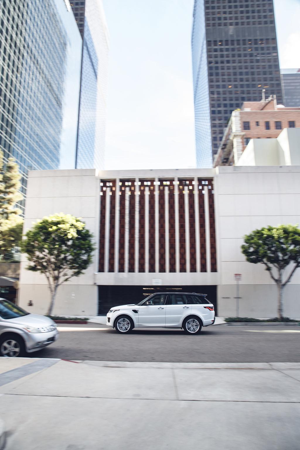 The 2018 Range Rover Sport P400e PHEV in LA