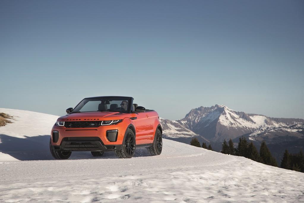 Range Rover Evoque Convertible - Canadian | Land Rover